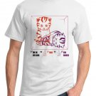 Physics T-Shirt - Size L - Unisex White - Schrodinger's LOLcat (Hot Version)
