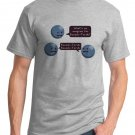 Math T-Shirt - Size L - Unisex Ash - Banach-Tarski