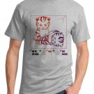 Physics T-Shirt - Size L - Unisex Ash- Schrodinger's LOLcat (Hot Version)