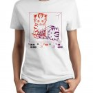 Ladies' T-Shirt - Size L - White - Schrodinger's LOLcat Physics Tee (Hot Version)