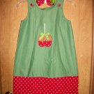 girls a-line dress 6m-3t with matching bow