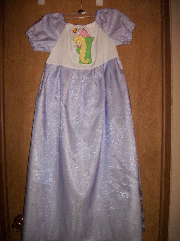 Girls rapunzal princess dress 6-8