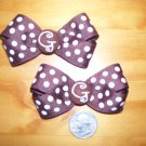 boutique hair bow set mini