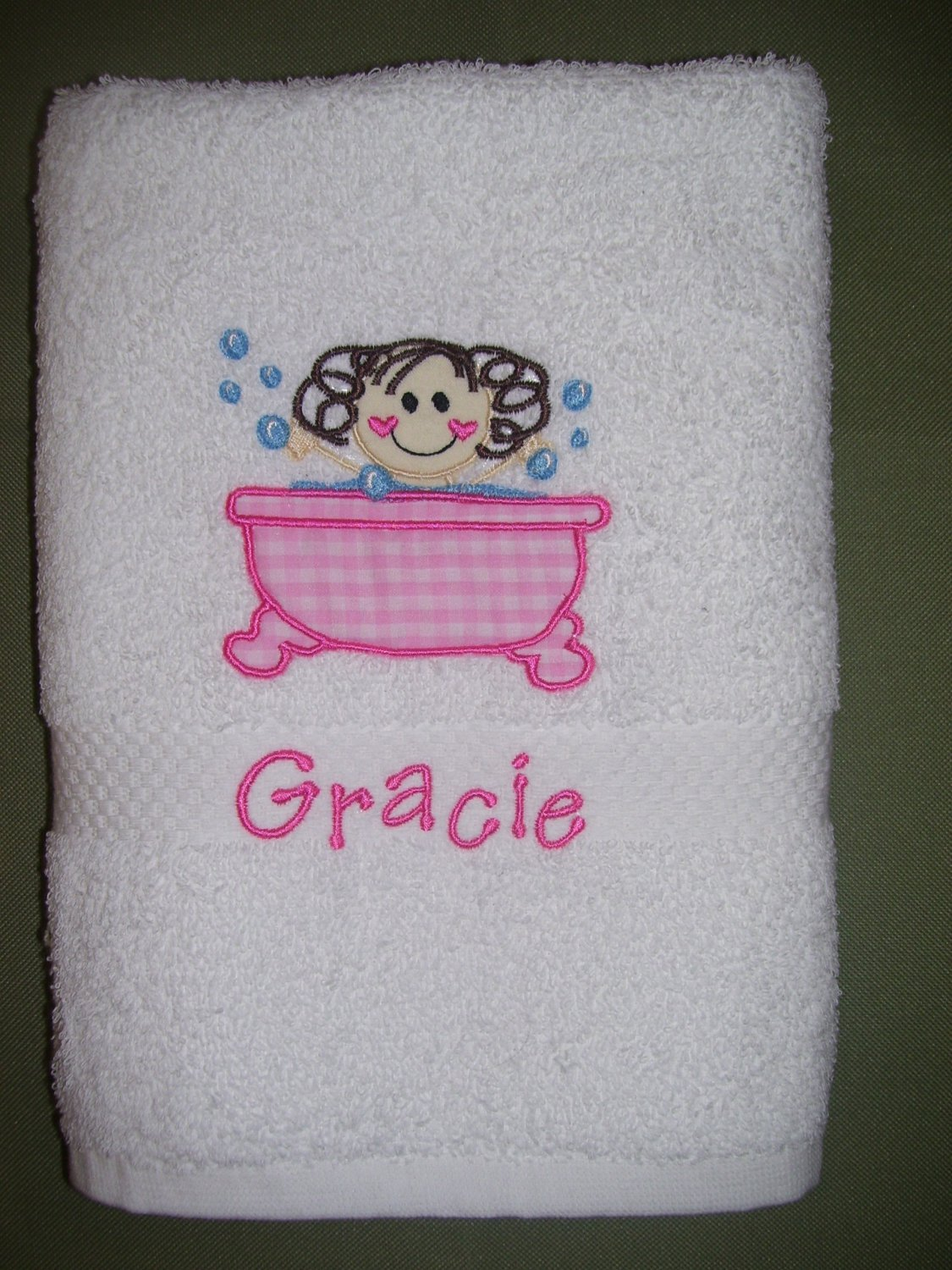 custom towel for kids