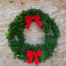 "36"" decorated balsam wreath"