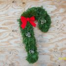 candy cane balsam wreath