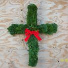 Cross balsam wreath