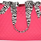 Diaper Bag w/ Zebra Trim (NAME ONLY)