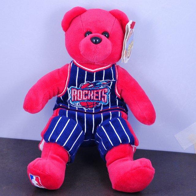 Team Bears authentic Houston Rockets Yao Ming #11 Bear