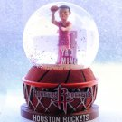 Forever Collectibles Yao Ming Houston Rockets Water Globe