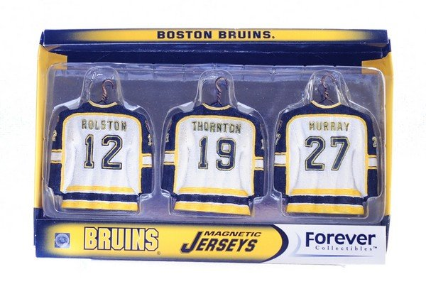 Forever Collectibles Boston Bruins Jersey Magnetic Set