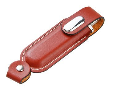 Sophisticated Series - Red Leather USB