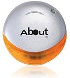 Uniqe Series - Round Silver and Orange USB
