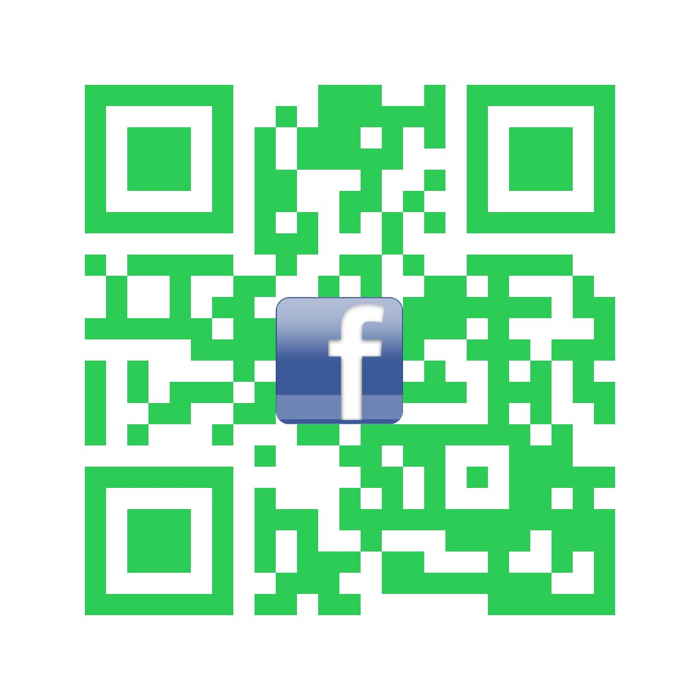 Just ~ f ~ Me ! Social Media QR Code Takes Anyone Directly To Your Facebook Page