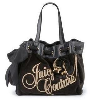 New Juicy Couture Daydreamer Day Dreamer Handbag Purse black 136#