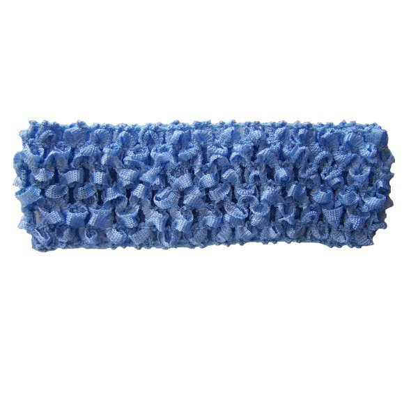 Light Blue Crochet headband