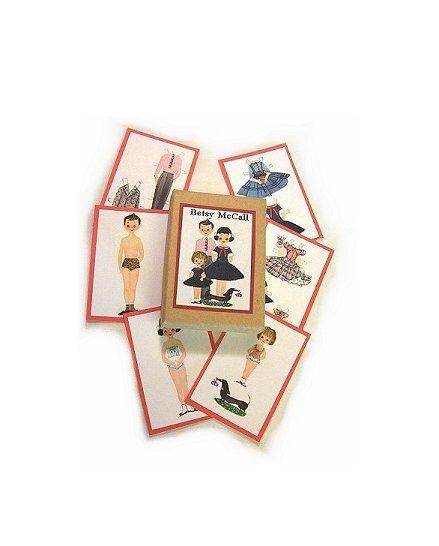 Mini Betsy McCall Paper Dolls & Box for Dolls PD23
