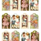 Doll Tag Sheet #18 Tags for your dolls