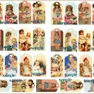 Doll Tag Sheet #20 Tags for your dolls 29 Mini Tags