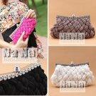 Howllywood Style Bride Purse Cross Body bag Clutch Wedding Bag Women bag SIL010