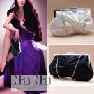 Hollywood Simple Look Bride Purse Cross Body bag Clutch Wedding Bag Gift SIL009