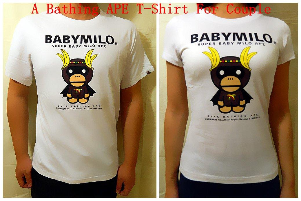 A Bathing APE BAPE T-Shirt Couple 6610