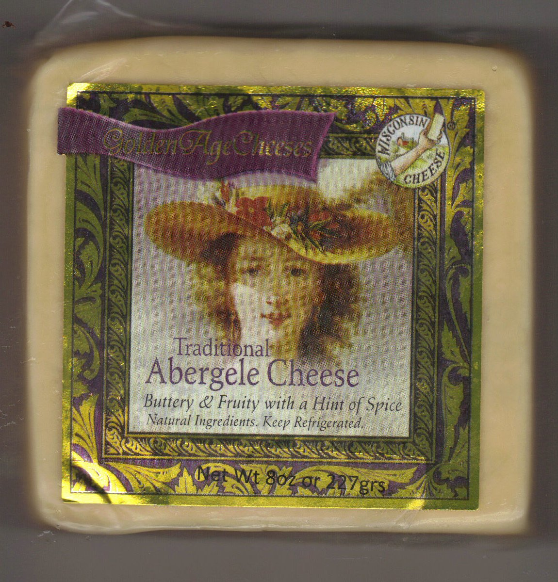 Golden Age Cheeses Buttery with a hint of spice 2lbs Real Wisconsin Cheese