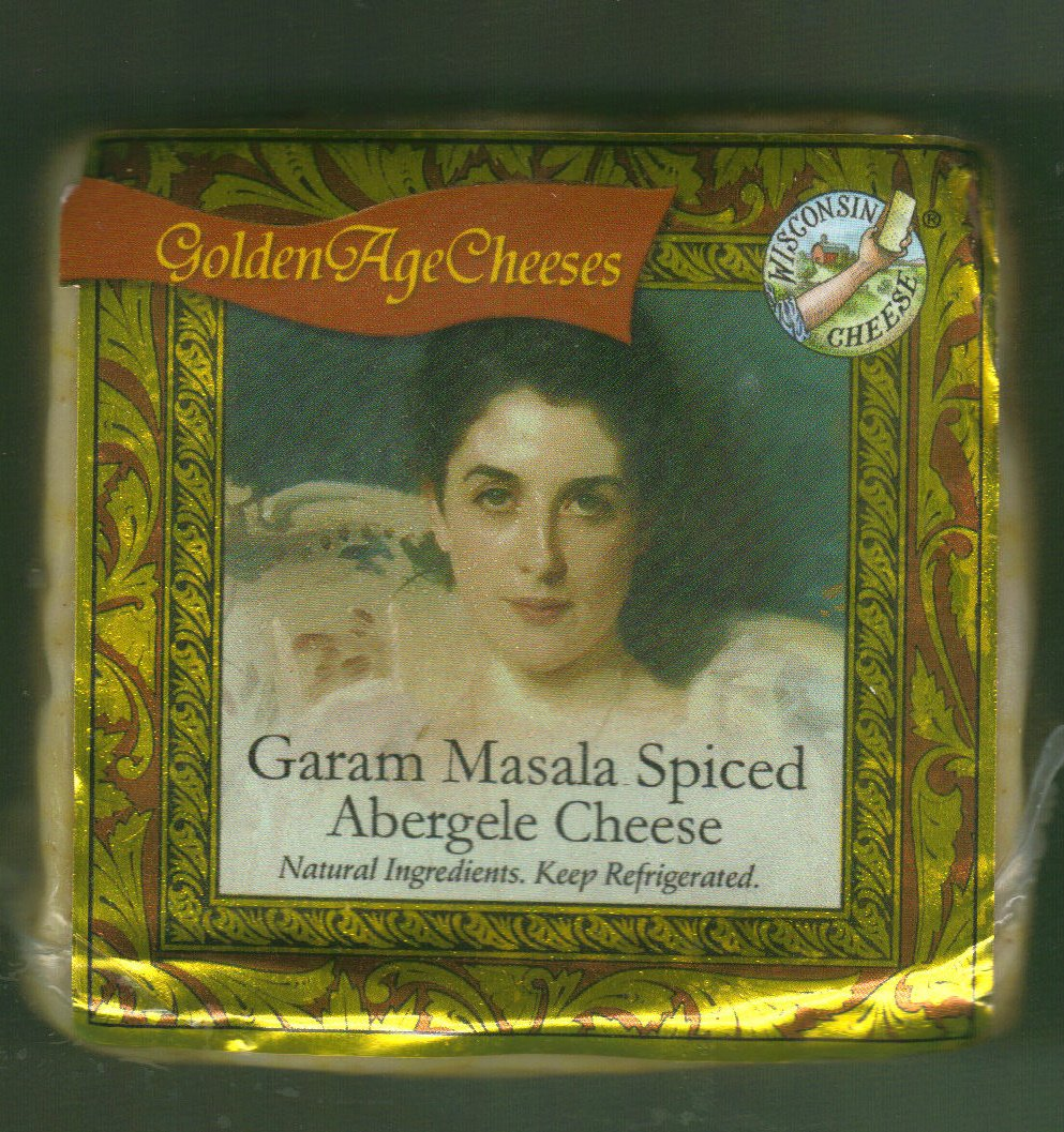 Golden Age Cheeses Garam Masala Spiced 2lbs Real Wisconsin Cheese