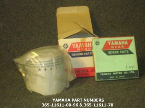 YAMAHA MX360 PISTON & RING SET-AHMRA-vintage-classic-moto cross-enduro-