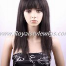 "100%india remy full lace wigs 18"" black or brown"