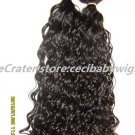 16&quot; hair weft  clip in on hair extensions hair weave india remy  hair afro curly