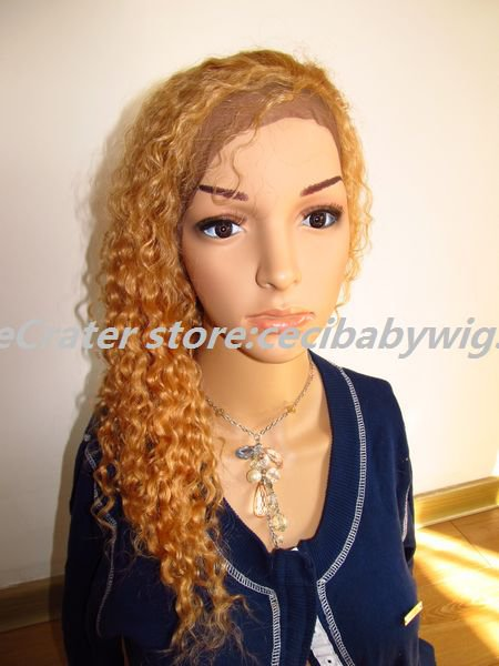 lace front wigs fashion wigs afro curly blonde indian remy hair