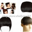 human hair bangs fringe clip in on hair extensions india remy hair