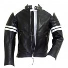 Fight Club Mayhem Black Cowhide Leather Jacket