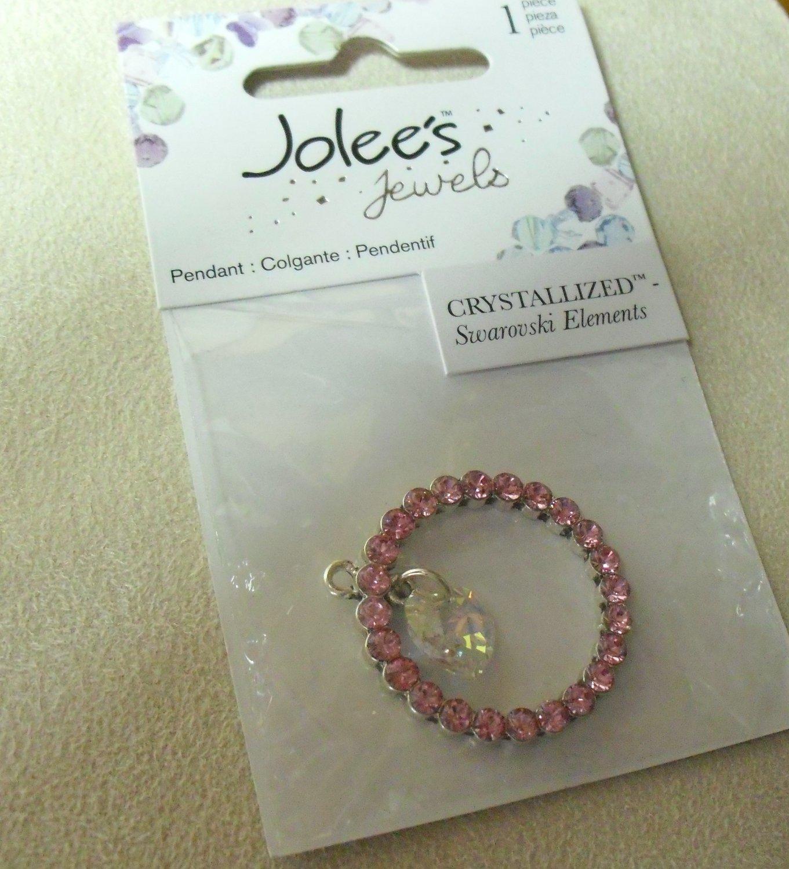 Pink Crystal Pendant