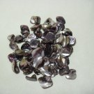 Purple Shell Beads