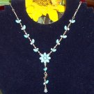 Turquoise Flower Vine Necklace