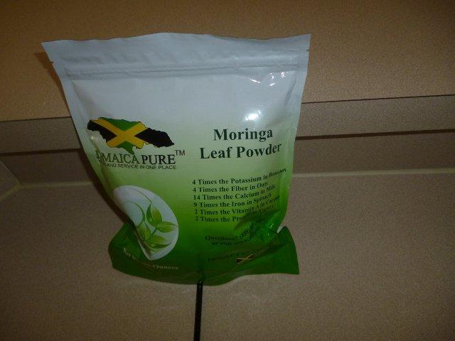 Moringa Oleifera Leaf Powder (8 oz Bag)