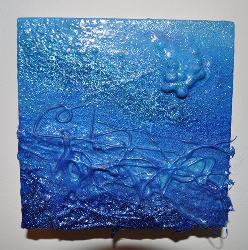Light Blue Wall Decor