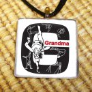 Gymnastics - My Life Glass Pendant