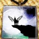 Mystic Unicorn - Glass Pendant