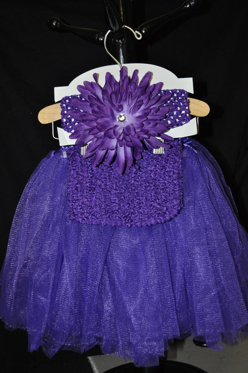 Dark Purple Tutu Set
