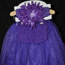 Dark Purple Tutu Set
