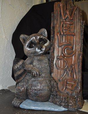 Welcome Raccoon