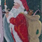 Happy Holidays Santa - Large Slate