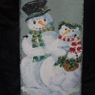 Mr. & Mrs Snowman - Large Slate
