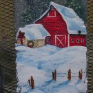 Country Christmas - Large Slate