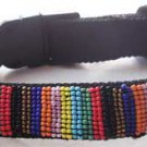 Tingo Beaded Collar - Black XS