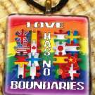 Love Has No Borders Pendant
