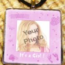 Custom Picture Glass tile Pendant - It's a Girl